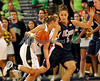 Choice 6 of 9<br /> <br /> Connecticut guard Caroline Doty, right, defends as Notre Dame guard Melissa Lechlitner drives the lane in an NCAA college basketball game March 1, 2010 in South Bend, Ind. (AP Photo/Joe Raymond)