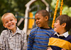 CO8.1 / two boys 6-10 years old who are friends, no fishing photos<br /> <br /> Choice 12 of 18<br /> <br /> <br /> Richmond, Virginia, USA --- Multi-ethnic boys laughing --- Image by © Ariel Skelley/Blend Images/Corbis