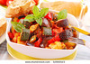 TA9.11 / Colorful vegetarian meal<br /> <br /> Choice 11 of 13