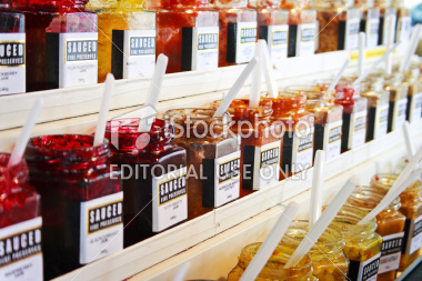 P7.4. Assortment of Jars of jam<br /> <br /> Choice  13 of 14