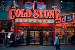 P5.9 / Franchising Photo: To replace Door to Door Drycleaning on page 132 Choice 7 of 12  Cold Stone Creamery store in Times Square in New York on Monday, October 19, 2009. (� Richard B. Le ...