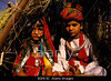 TA12.18a / Requested new photo of Asian Indian child / adolescent marriage ceremony<br /> <br /> Choice 6 of 11<br /> <br /> B0HK3C The bride and groom at a child wedding, Rajasthan, India.